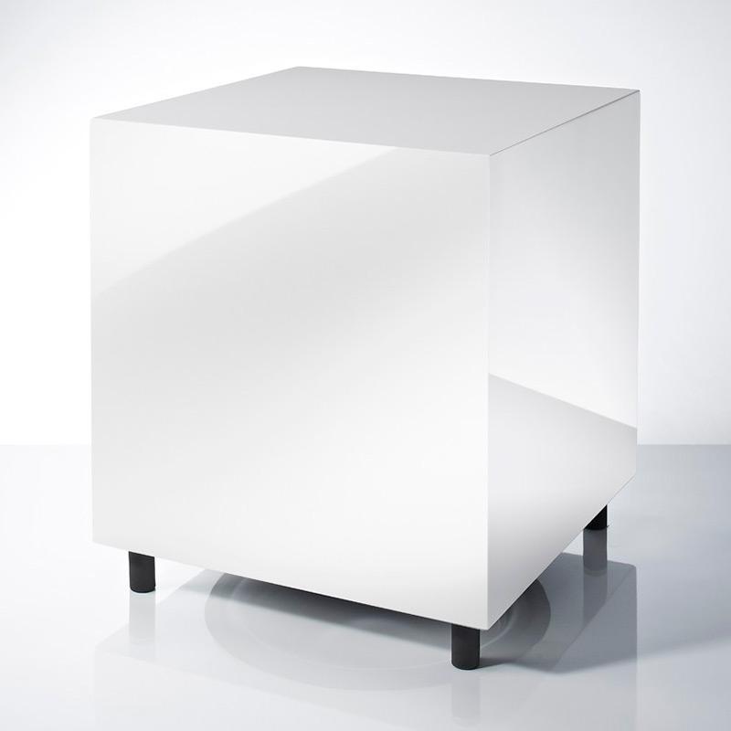 308 Subwoofer - Hochglanz Weiß