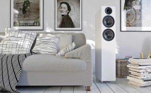 Lautsprecher Acoustic Energy AE309 - Hochglanz Weiß