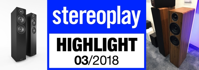 Acoustic Energy AE 109 – Highlight Stereoplay 3/2018