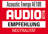 AE109 Review in AUDIO 07-2018