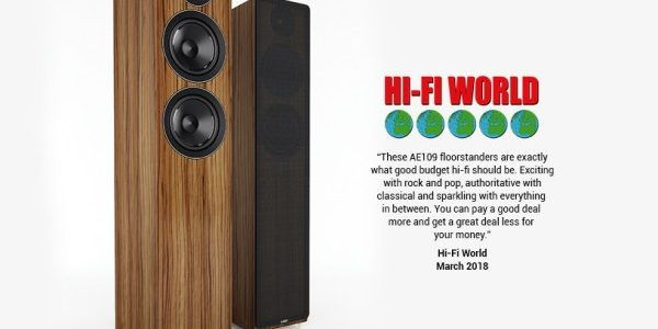 ACOUSTIC ENERGY AE 109 im Hifi-World Test – 5 Globes