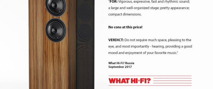 ACOUSTIC ENERGY AE 109 – What Hifi? (Russia)