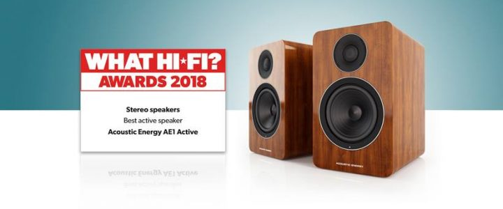 ACOUSTIC ENERGY AE 1 Active im What Hifi Test – 5 Stars