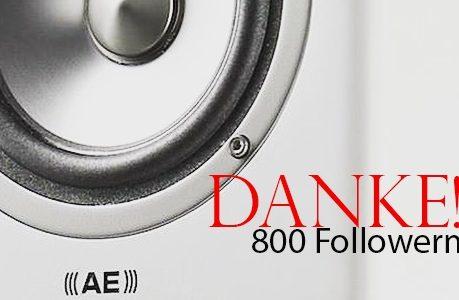 800 Follower auf Instagram