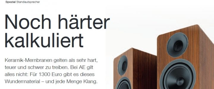 ACOUSTIC ENERGY AE 309 in der stereoplay 1/2019 – Geheimtipp