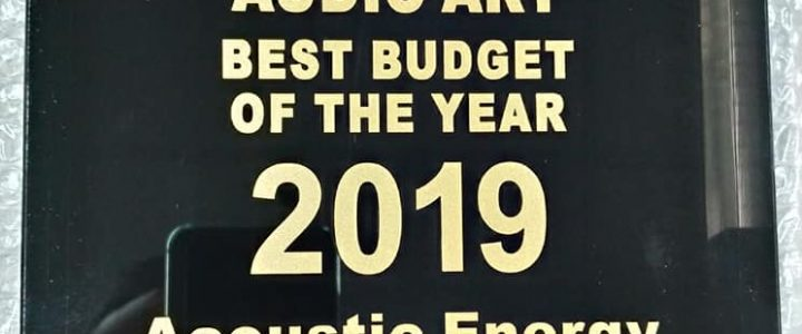 Best budget speaker of the year 2019 – Acoustic Energy AE 1 Active