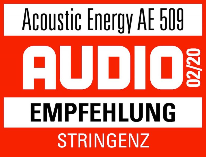 Audio Empfehlung Acoustic Energy Standlautsprecher AE 509