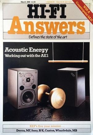 Der erste Acoustic Energy Test