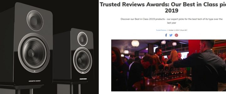 Trusted Review – active speakers 2019