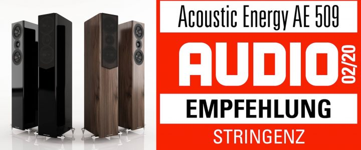 ACOUSTIC ENERGY AE 509 – AUDIO – Empfehlung
