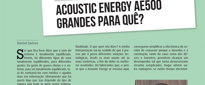 Test: ACOUSTIC ENERGY AE 500 – Audio & Cinema em Casa