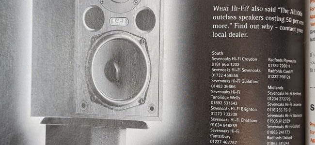13 absurd and amusing British adverts from the What Hi-Fi? archives