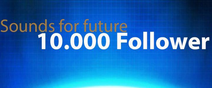 10000 Follower auf Instagram