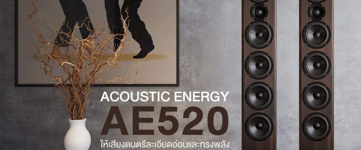 ACOUSTIC ENERGY AE 520 im Test der Audiophile-Videophile