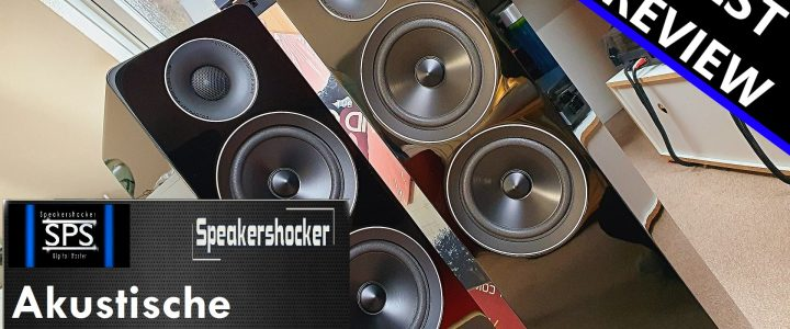 Speakershocker war wieder am Werk: Acoustic Energy AE 309 im Test.
