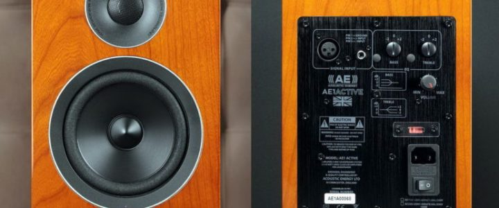 "Tech Week Magazine über Acoustic Energy AE 1 Active ""Dynamisch & Selbstbewusst"""
