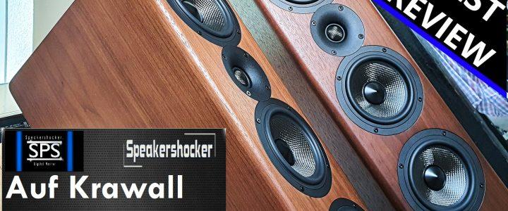 Speakershocker: Ist der Standlautsprecher Acoustic Energy AE 520 auf Krawall gebürstet?